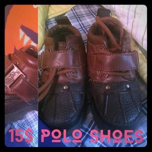 Nice smocked and polo little boy clothes/shoes